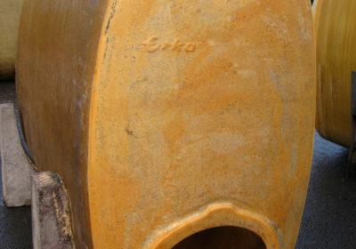 Liegende Polyestertank mit Konsolen 2.000 Liter