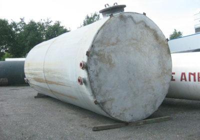 Polyester Tank mit PVC inliner