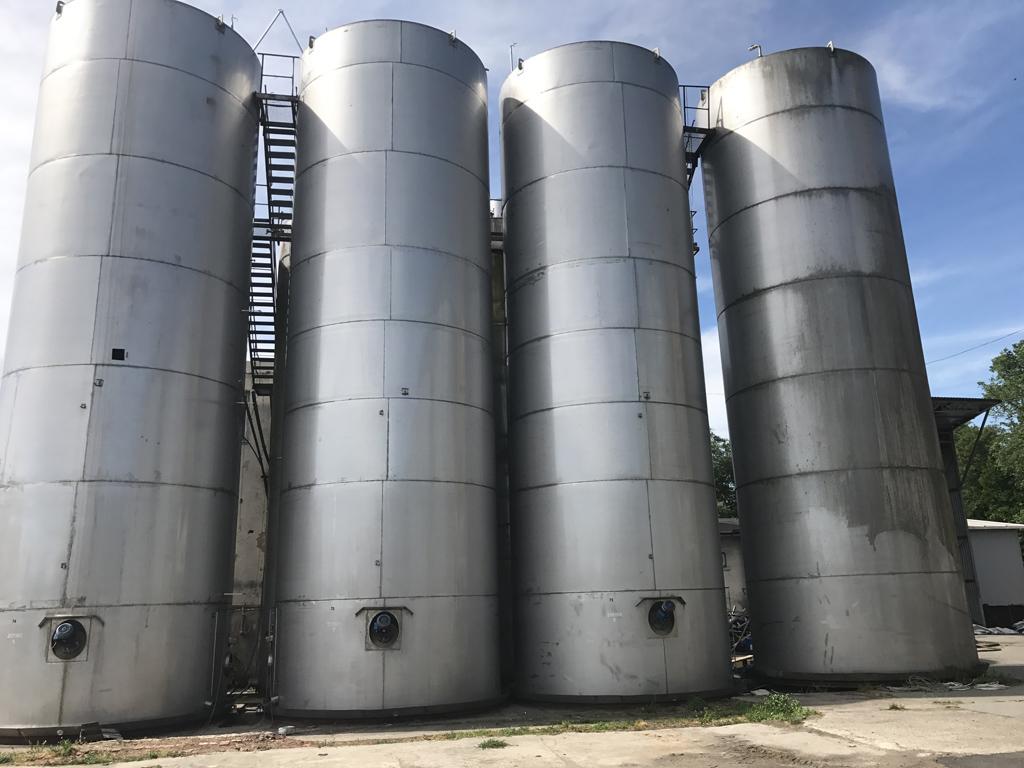 Edelstahl Lagertank 200.000 Liter R81