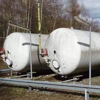250.000 Liter Gastank